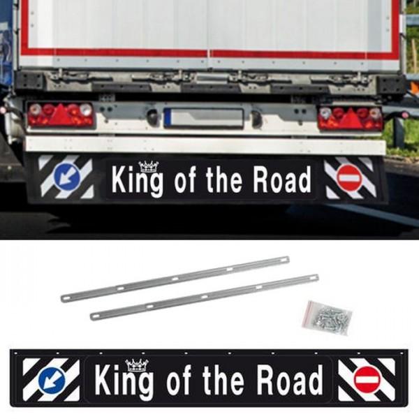 Universal Schmutzfänger hinten lang 240x35cm LKW Anhänger Schutz Spritzlappen 3D