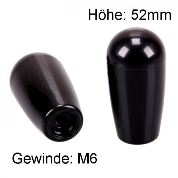 Knauf M6 Kegel Innengewinde Kunststoff Kugel Ersatz Griff Hebel Schalter KFZ LKW