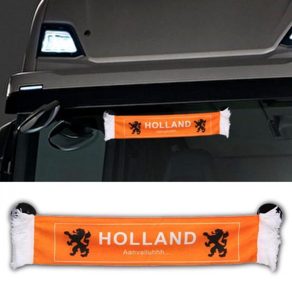 LKW Auto Holland Niederlande Mini Schal Wimpel Flagge Fahne 45x8cm Saugnapf Spiegel Truck