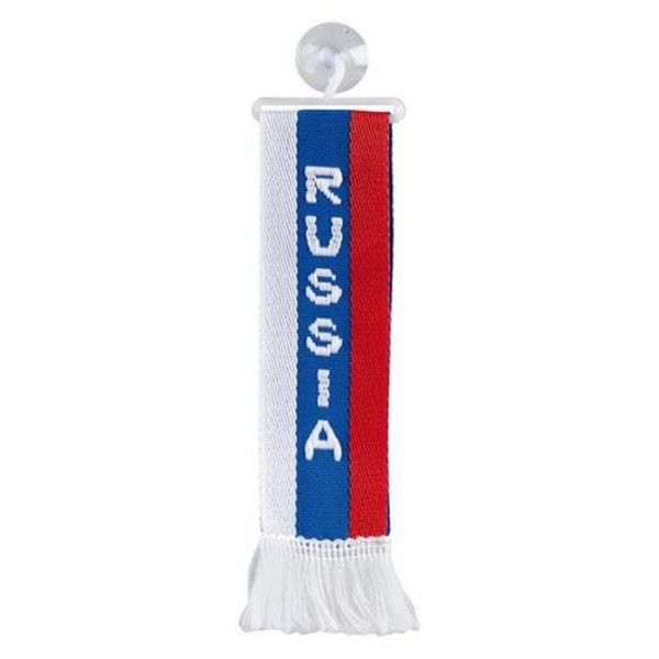 LKW Auto Minischal Russia Russland Mini Schal Wimpel Saugnapf Anhänger Spiegel Deko Flagge