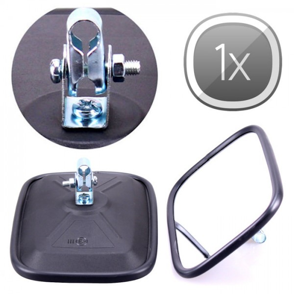 1x Universal Rückspiegel 175x120mm Außenspiegel Seitenspiegel Traktor Bagger LKW Bus KFZ Auto