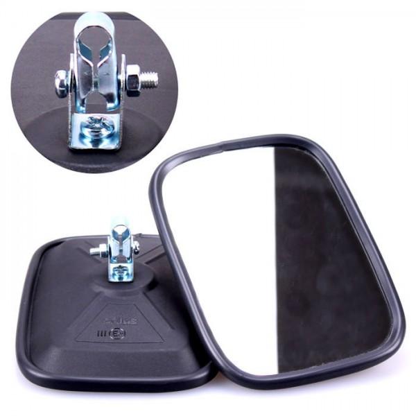 2x Universal Rückspiegel 175x120mm Außenspiegel Seitenspiegel Traktor Bagger LKW