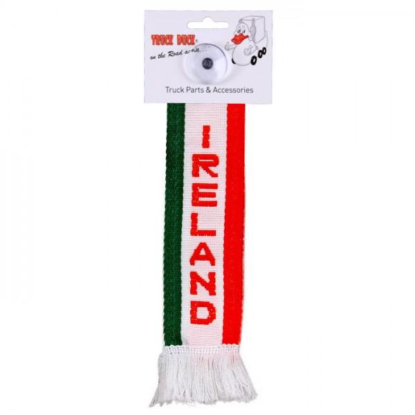 LKW Auto Minischal Irland Ireland Mini Schal Wimpel Saugnapf Anhänger Spiegel Deko Flagge