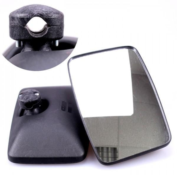 2x Universal Rückspiegel Konvex 250x160mm Außenspiegel Seitenspiegel Traktor Bagger LKW Bus