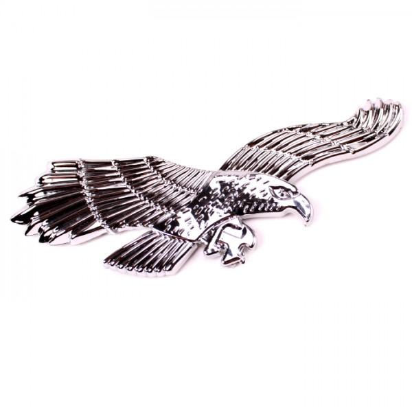 3D Adler Emblem Chrom Schriftzug Auto LKW KFZ Motorrad Aufkleber Sticker Motorhaube Kotflügel