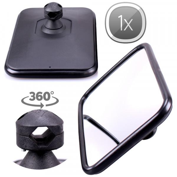 1x Universal Rückspiegel 305x205mm Außenspiegel Seitenspiegel Traktor LKW Bagger Bus Schlepper