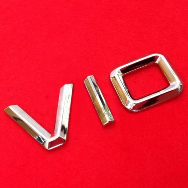 3D V10 Emblem Zeichen Chrom Schriftzug Auto Aufkleber Motorhaube Kotflügel Logo