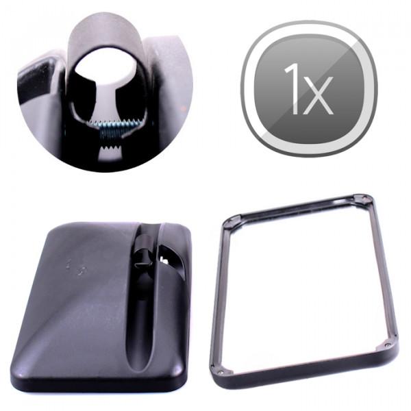 1x Universal Rückspiegel 305x170mm Außenspiegel Seitenspiegel LKW Bus Traktor Bagger Wohnmobil