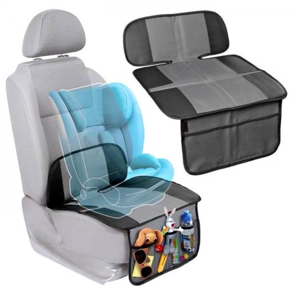 Auto Baby Kindersitz Rückenlehnenschutz Unterlage Autositzauflage Sitzschoner Tasche