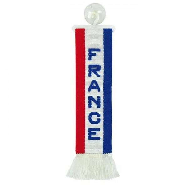LKW Auto Minischal France Frankreich Mini Schal Wimpel Saugnapf Spiegel Deko Flagge Fahne
