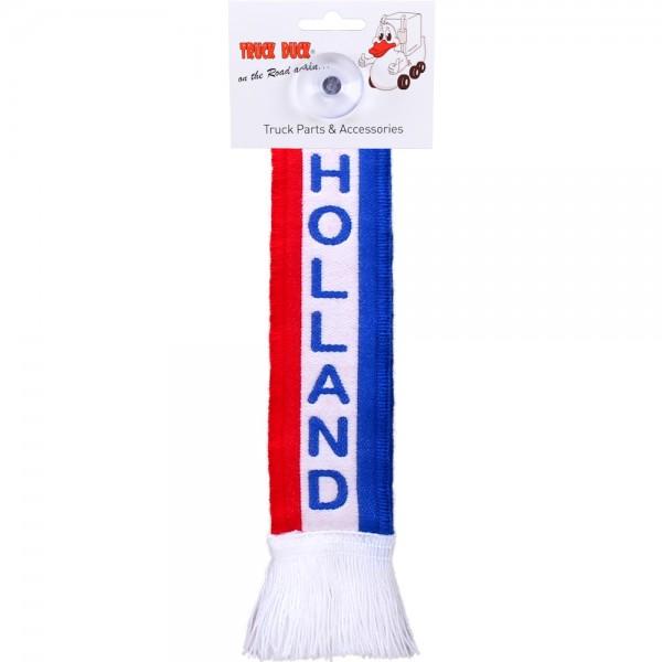 LKW Auto Minischal Holland Niederlande Mini Schal Wimpel Saugnapf Spiegel Deko Flagge Fahne