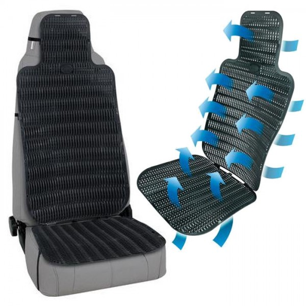 Belüftete Sitzauflage für LKW Bus Transporter Sitz Belüftung Sitzbezug Sitzmatte
