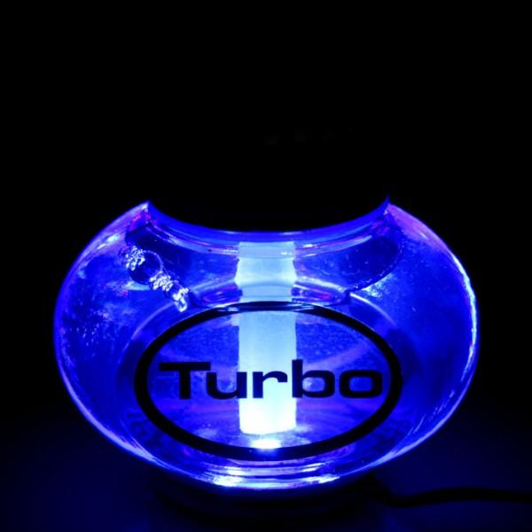 Turbo Lufterfrischer Tropical mit Poppy LED Beleuchtung 12V 24V LKW KFZ Auto Wohnwagen