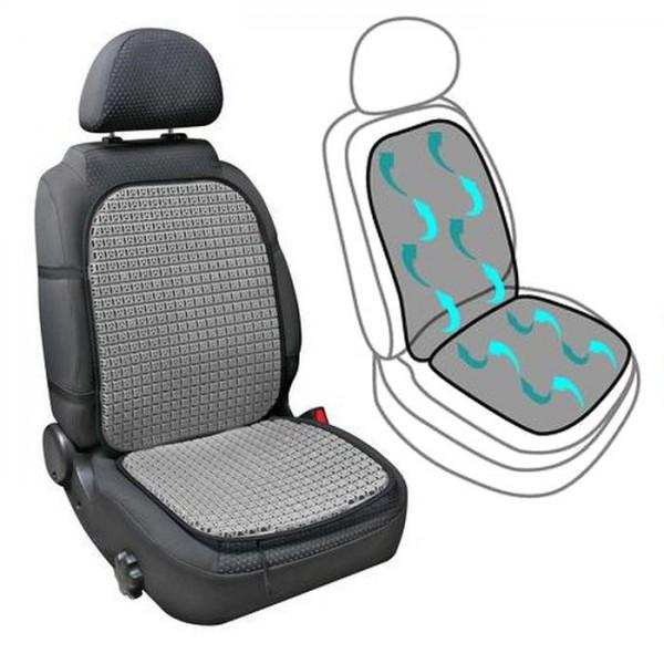 Belüftete Sitzauflage für Auto Sitz Klima Belüftung Sitzbezug Taxi Luft Sitzmatte