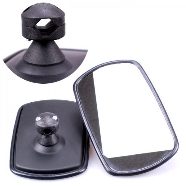 2x Universal Rückspiegel 255x165mm Außenspiegel Seitenspiegel Traktor Bagger LKW