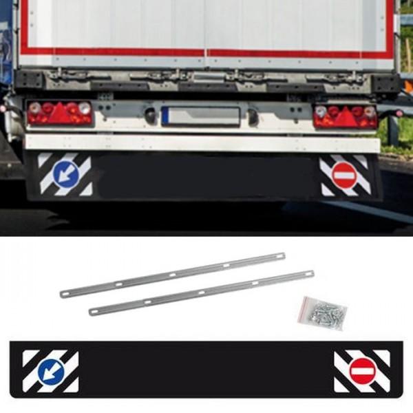 Universal Schmutzfänger hinten lang 240x35cm LKW Anhänger Schutz Spritzlappen