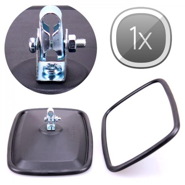 1x Universal Rückspiegel 235x145mm Außenspiegel Seitenspiegel Traktor Bagger LKW Bus KFZ Auto