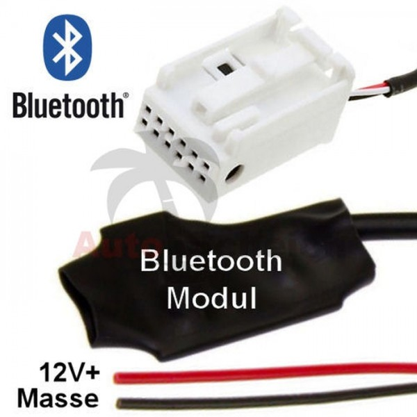 Bluetooth AUX IN Adapter für Audi Concert Symphony Chorus 3 VW RNS RCD 310 MFD3 Radio Handy