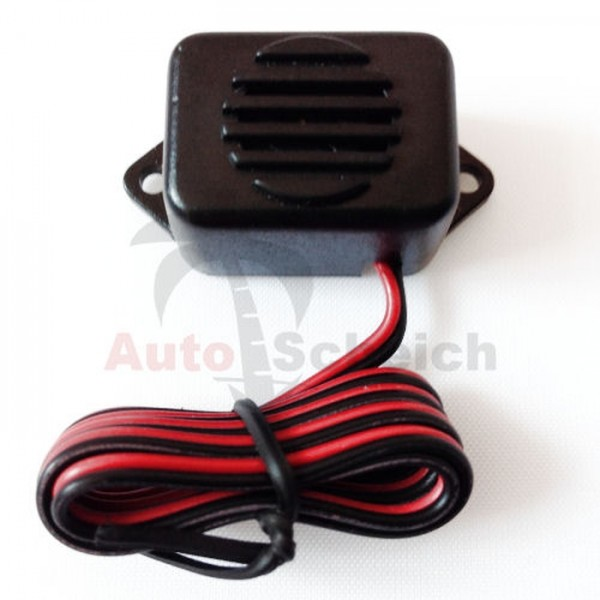 Auto Lichtwarner Kontrollsummer Licht An/Aus Summer 6/12V KFZ Adapter Pieper Kabel
