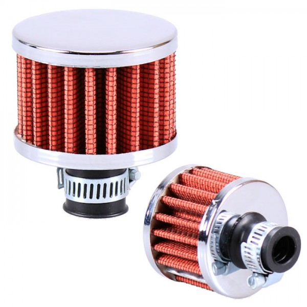Universal Entlüftungsfilter Mini Sportluftfilter Gehäuse Getriebe Motor Tank Luftfilter Kurbelwelle