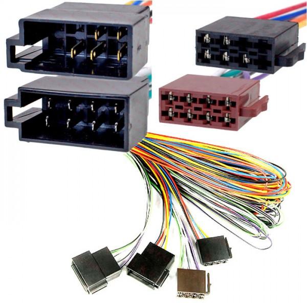 AutoScheich® ISO Verlängerung 5m KFZ Auto Radio Stecker Adapter ...