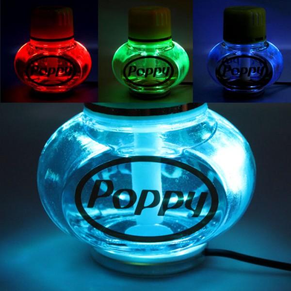 Poppy Lufterfrischer Ocean mit LED Beleuchtung 12V 24V LKW Auto KFZ Wohnwagen