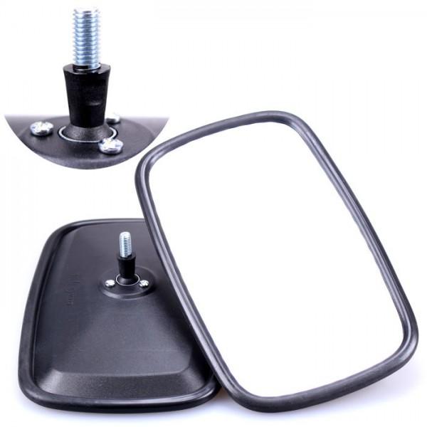 2x Universal Rückspiegel 232x145mm M6 Gewinde Außenspiegel Seitenspiegel Traktor Bagger LKW