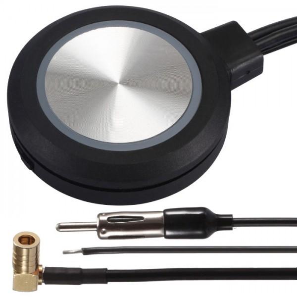 DAB+ FM Scheiben Antenne Verstärker für JVC Kenwood Sony Alpine Pioneer Radio