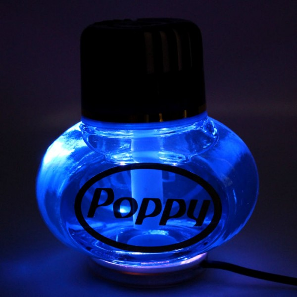 Poppy Lufterfrischer Tropical mit LED Beleuchtung 12V 24V LKW KFZ Auto Wohnwagen