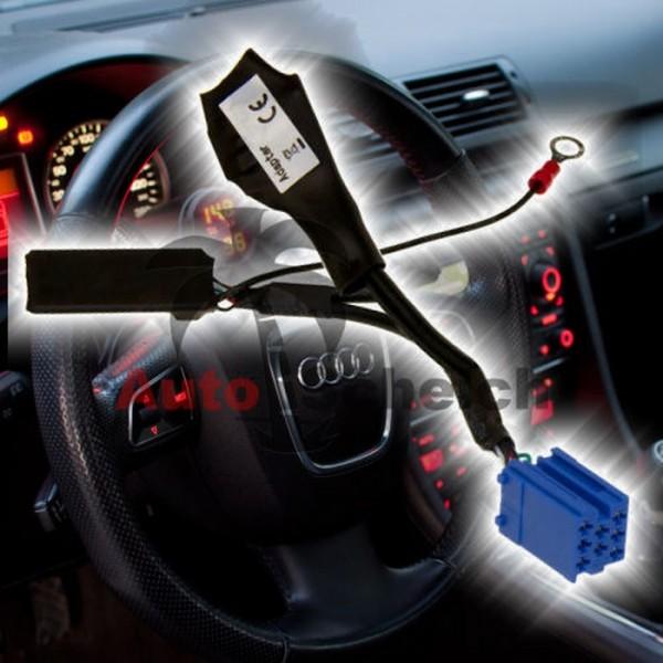 Bluetooth AUX IN Adapter Radio CD Wechsler Interface für Audi VW Seat Skoda