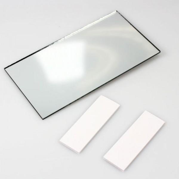 KFZ LKW Make-Up Spiegel Schminkspiegel Sonnenblende Innen Zusatz Rückspiegel