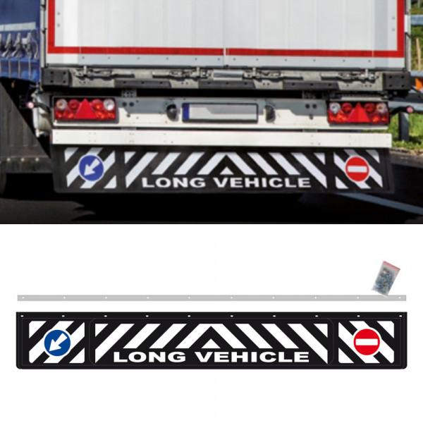 Universal Schmutzfänger Long Vehicle hinten lang 240x35cm LKW Anhänger Schutz Spritzlappen 3D