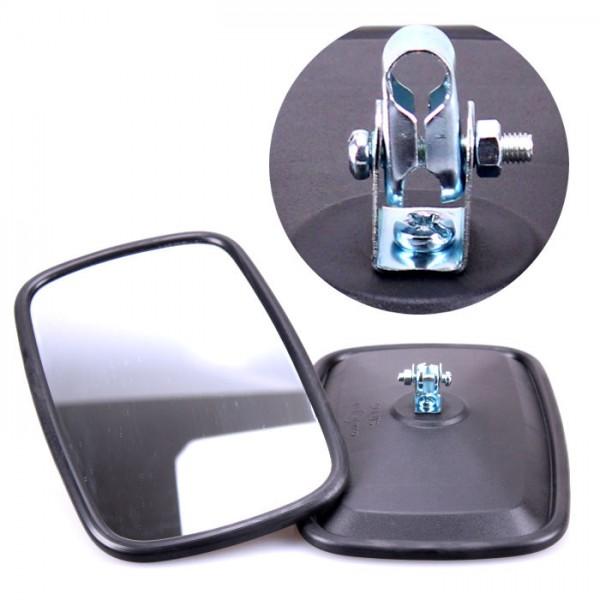 2x Universal Rückspiegel 235x145mm Außenspiegel Seitenspiegel Traktor Bagger LKW
