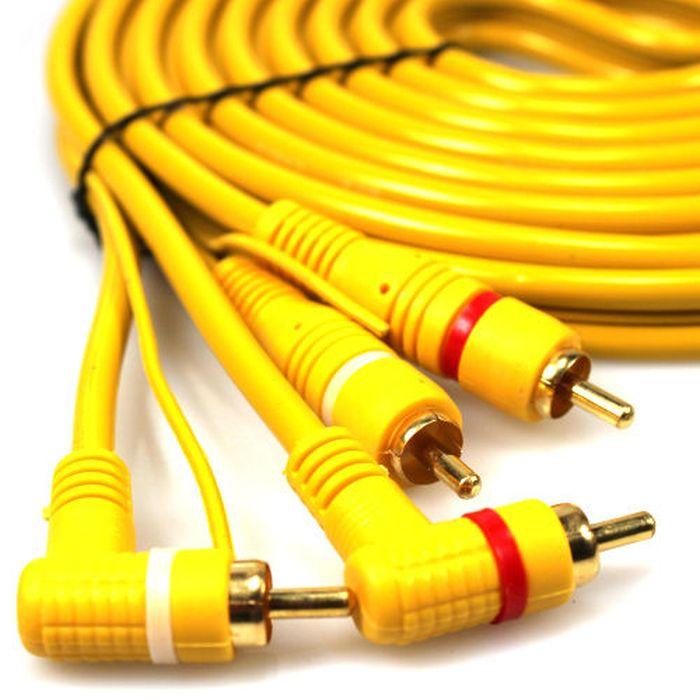 autoscheich cinch kabel 5m remote leitung rca verst rker. Black Bedroom Furniture Sets. Home Design Ideas