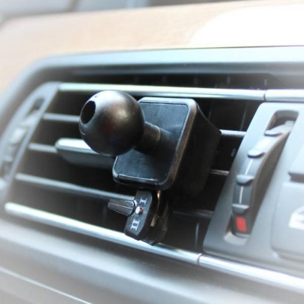 Navi Lüftung Halterung Halter für Garmin Essential nüvi zumo dezl Streetpilot 17mm Kugel