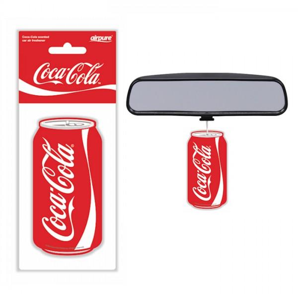 Original Coca Cola Lufterfrischer Dose Cola Duft Air Freshener Duftbaum LKW KFZ Auto Bus