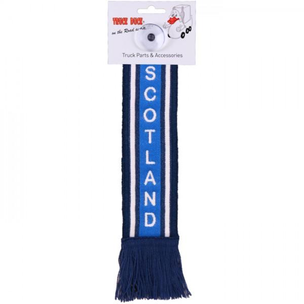 LKW Auto Minischal Scotland Schottland Trucker Mini Schal Wimpel Saugnapf Spiegel Deko Flagge Fahne
