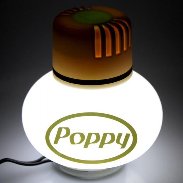 Poppy Lufterfrischer Jasmin mit LED Beleuchtung 12V 24V LKW KFZ Auto Wohnwagen