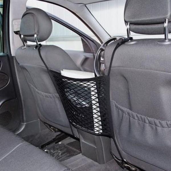 KFZ Netz Autositz Ablagefächer Ablagefach Handy Halter Tasche Box Organizer LKW